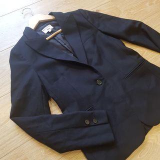 NEW Ines De La Fressange Navy Blazer
