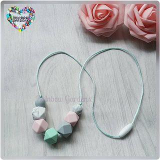 Beads Necklace / Teething necklace (7pcs beads)