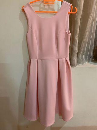Dorothy Perkins Pink Sexy Back Dress