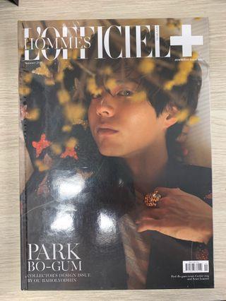 朴寶劍 泰國雜誌 L'Homme Officiel Park Bo Gum
