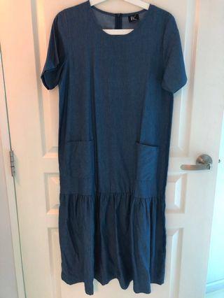 🚚 Negotiable! Brand new Incbyjamie soft denim dress
