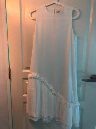 Brand new Collate the Label white dress in medium