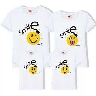 Smiley Family Tees/Couple Tees/Matching Tees