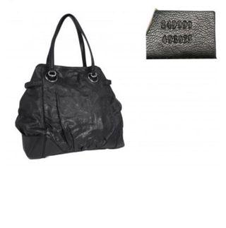 Gucci 249999 Black Guccissima Leather Full Moon Large Tote Bag