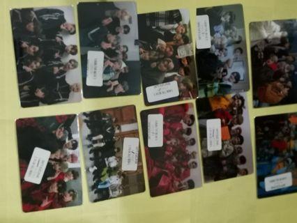 Ateez ezlink card sticker