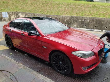 Beautifully Done up Bmw 523 F10 for long term rental lease. Cheap steal Promotion