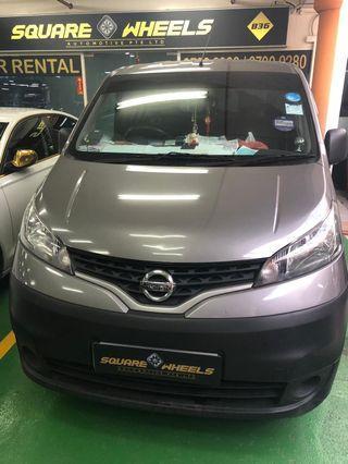 Nissan NV200 For Rental!! No Deposit Needed!!