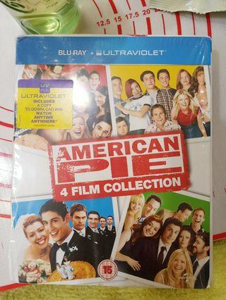 🚚 Blu Ray American Pie 4 Film Collection