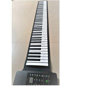 KONIX PA88 電子鋼琴 88鍵手卷鋼琴 MP3 播放功能 鋰電池 加厚midi軟鍵盤 電子琴