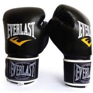 Everlast Boxing Gloves ORIGINAL + FREE NET BAG
