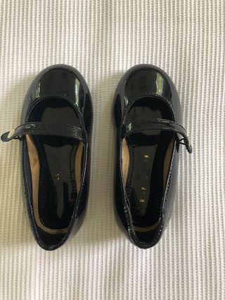 Ralph Lauren black patent leather shoes