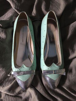 Flat Shoes yongki ukuran 38 tosca