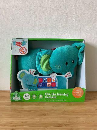 🚚 SALE! [BN] ELC Ellie the Learning Elephant (Letters & Numbers)
