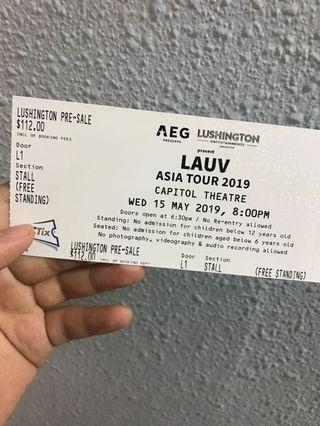 Lauv x1 15 May standing