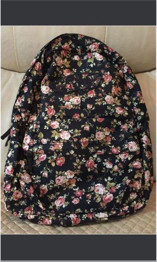 Vans Floral Flower Backpack 全新碎花靚色背囊 超值優惠