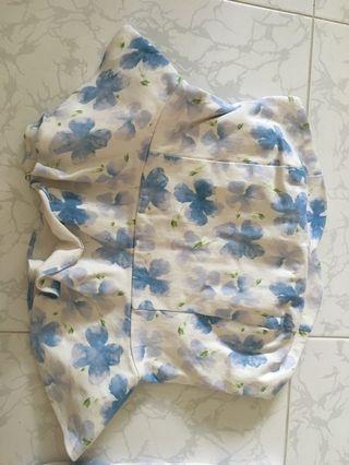 TCL Floral tube top