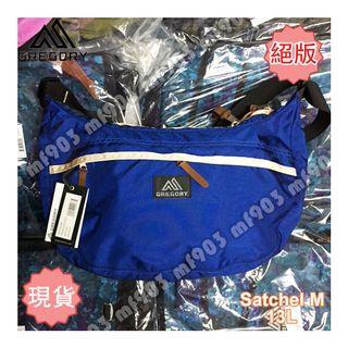 絕版行貨 Gregory Satchel M 13L True Blue 揹袋 旅行袋 Y3 Arcteryx Arro 22 Bape Chanel Madness Arro22 Celine