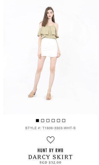 🚚 RWB Darcy Skirt (White)