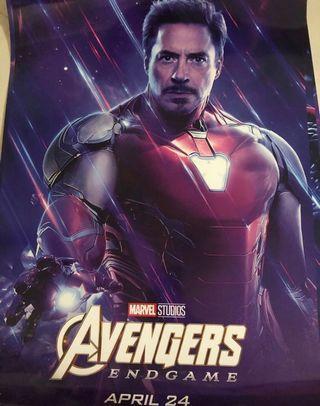 Avengers Endgame Ironman款 海報
