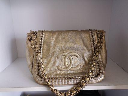 Authentic Chanel Accordion Flap