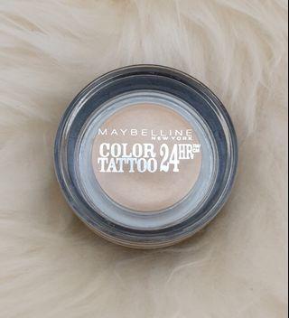 Maybelline Color Tattoo 24 HR Gel Cream Eyeshadow