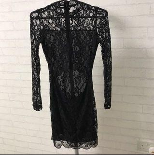 Sexy Black Lacy Dress