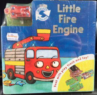 Little Fire Engine 🚒 Fold-Out Play Track Board Book