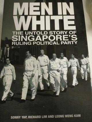 🚚 Men in white book