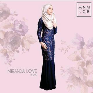 Miranda Love Kurung by Minimalace