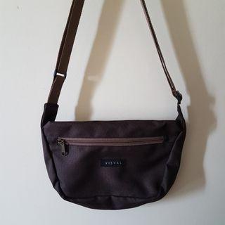Sling bag Visval brown