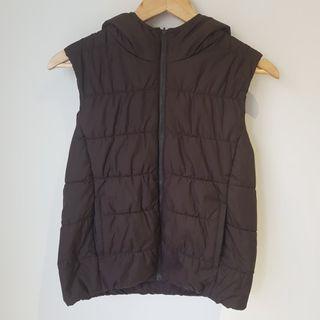 Uniqlo Brown REVERSIBLE Puffer Vest