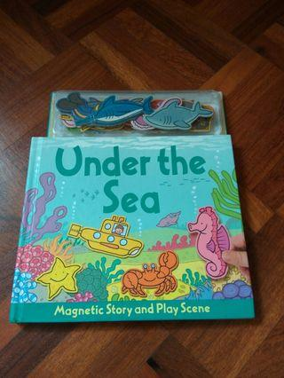 🚚 Under the sea, magnetic story and play scene book