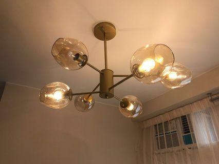 吊燈 ceiling lamp