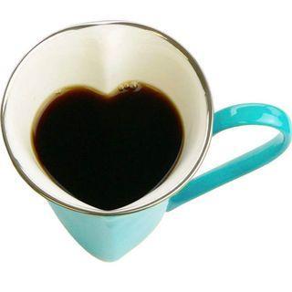 和心屋 Wagokoroya 心型 咖啡杯 一對 心型匙 2隻