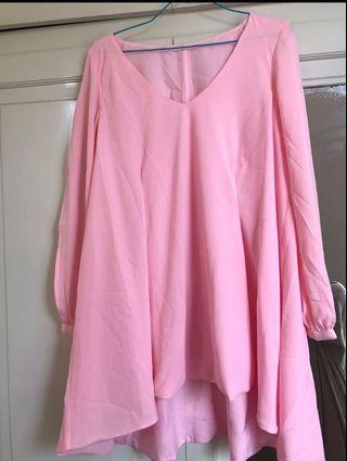 Blouse Pink #BAPAU