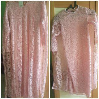 Baju gamis (1 set dengan anak cewe usia 6 thn)
