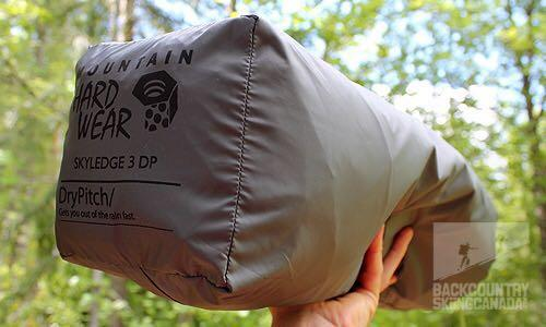 Mountain Hardware Lightwedge 3DP tent