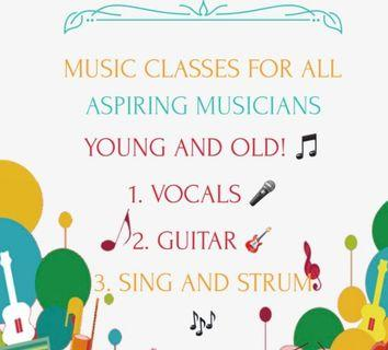 🚚 Music classes for all ages🎸🎤