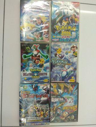 Pokemon movies VCD and DVD 📀