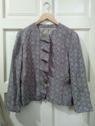 Plus size vintage blouse