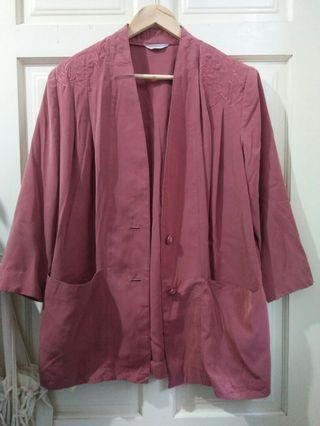 Plus size vintage cardigan