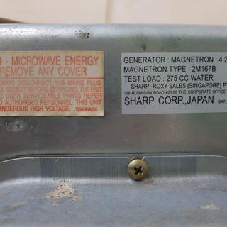 Jual microwave Sharp made in japan