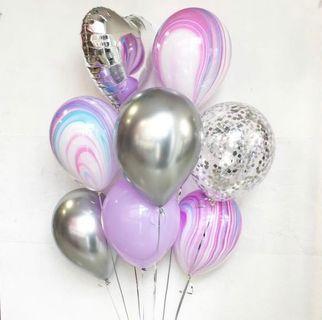15pcs Helium Balloons