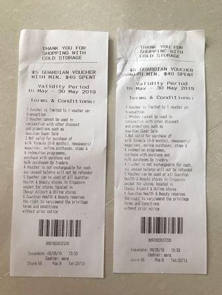 $5 Guardian Voucher With Min $40 Spent