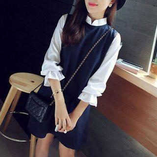 Dress Blouse Korea Casual