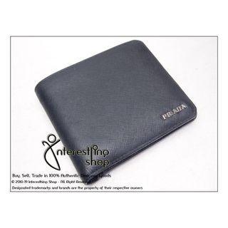 Starting Bid: $60 END 16/05 5 PM - # 4784-01 Authentic Pre-Owned Prada 2M0738 Saffiano Corner Wallet (NON-NEG)