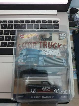 Hotwheels Car Culture - Shop Trucks