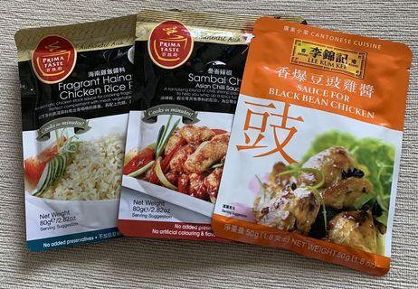 Asian Varieties Sauces