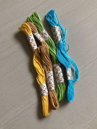 Embroidery Thread x4
