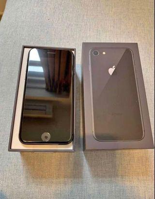 IPhone 8 256gb black 女仔用機 99% new